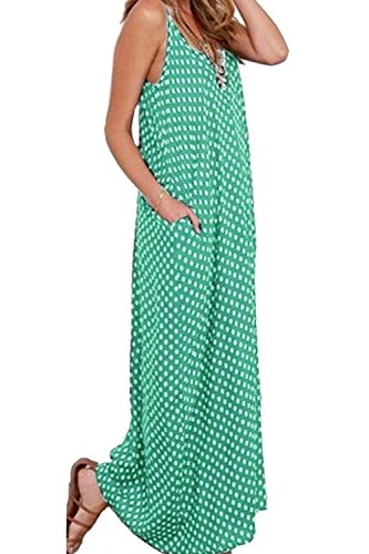 Mina Donne Taglia Collo Le No Swing Maxi Zojuyozio Abiti Green Estate 65zXqHWw