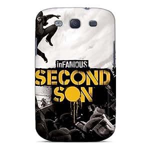 ElijahFenn Samsung Galaxy S3 Shock-Absorbing Hard Phone Case Support Personal Customs Trendy Avenged Sevenfold Series [swx6017AWjb]