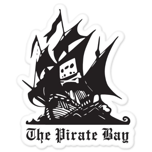 Pirate Bay car bumper sticker window decal 5
