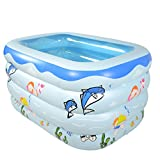 LQQGXL,Bath Child Inflatable Bathtub Inflatable Inflatable Pool Thicker Thermal Pool Collapsible Ocean Pool Pool Water Playground Inflatable bathtub