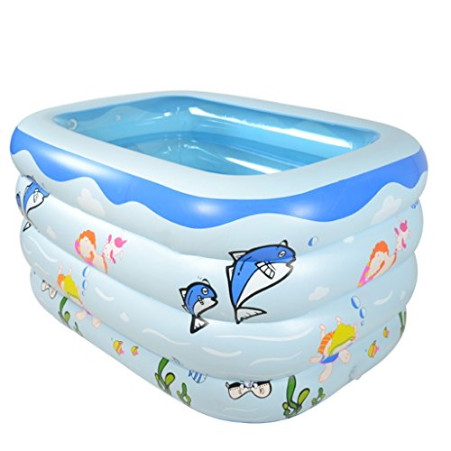 LQQGXL,Bath Child Inflatable Bathtub Inflatable Inflatable Pool Thicker Thermal Pool Collapsible Ocean Pool Pool Water Playground Inflatable bathtub by LQQGXL