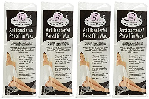 (Mutual Beauty Antibacterial Paraffin Wax 6lbs - Paraffin Wax - Unscented)