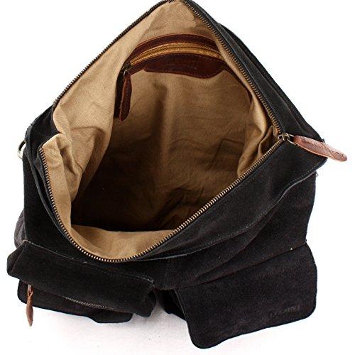 main Sac cuir cuir Sac suède Sac véritable en à main Leconi A4 Sac bandoulière cuir Sac à à à en Cuir A4 femme en en anthracite véritable pour marron LE0039 41x32x10cm V cuir en main cuir sauvage ZZqH87w