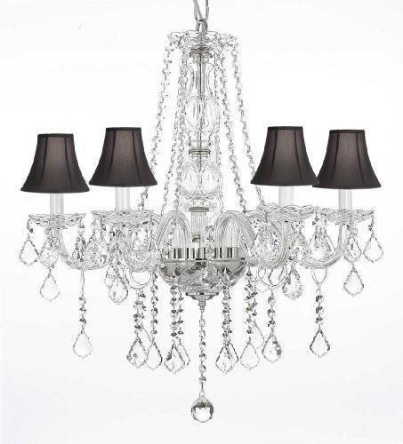 Amazon.com: Crystal Chandelier Chandeliers iluminación con ...