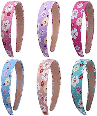 Set of 2 satin  covered colourful alice bands new various colours