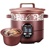 JOYOUNG Multi-Functional Slow Cooker in Purple Clay Pot 5L JYZS-K523M