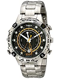 Timex Men's T2N738 Intelligent Quartz Adventure Series Tide Temp Compass Bracelet Watch