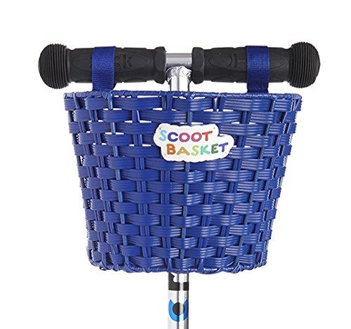Scoot Basket: Blue (Scooter Basket)