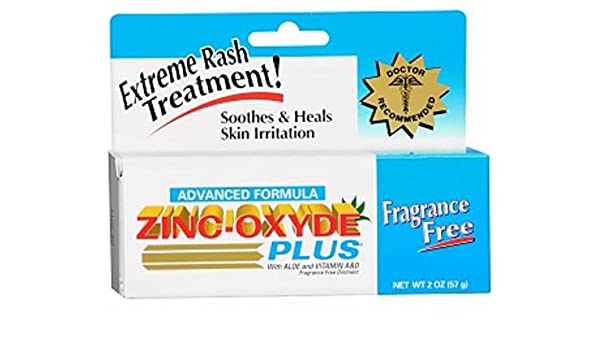 Amazon.com: First Aid Research Zinc-Oxyde Plus Skin Protectant 2 oz (Pack of 4): Health & Personal Care