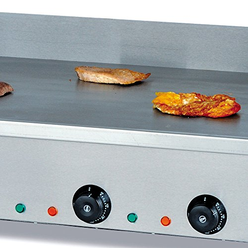 NOPTEG Electric Griddle Grill Machine, 4400W 110V Electric Flat plate griddle Multifunction Commercial Grill Hand cake baking machine Double Temperature Control CE (72.7x40CM) by NOPTEG (Image #7)