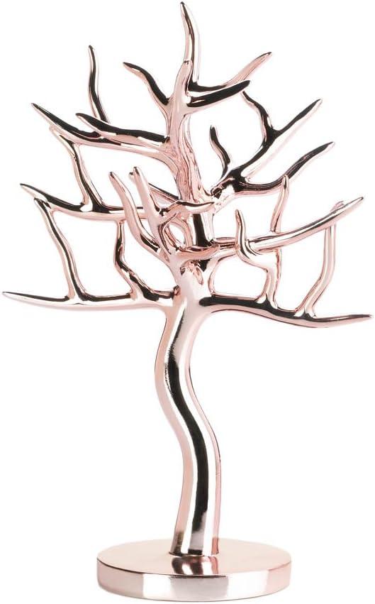 Amazon Com Tree Branch Jewelry Stand Unique Lady Jewelry Stand Rose Gold Jewelry Tree Home Kitchen