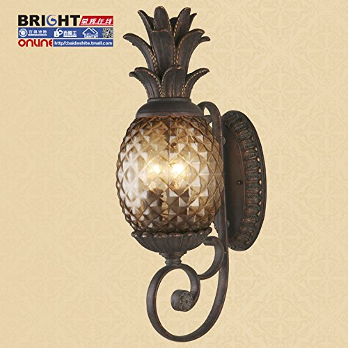 Pineapple Style Outdoor Light Fixtures - 9