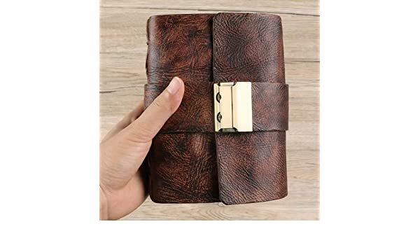 Amazon.com: Autumn Water Pocket Leather Notebooks Journals ...
