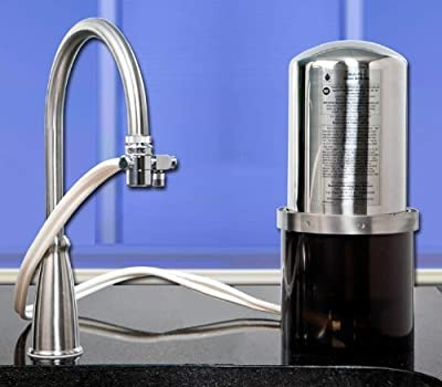 CB-VOC Water Filtration System with Countertop Kit