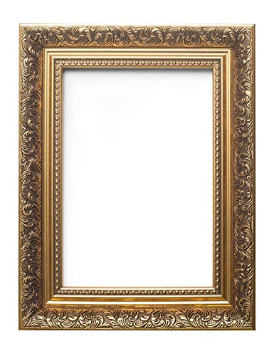 (Memory Box Ornate Swept Antique Style French Baroque Style Picture Frame/Photo Frame/Poster Frame - 14