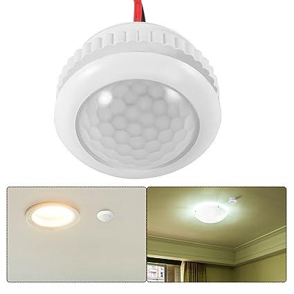 OurLeeme Smart PIR Detector de sensor de movimiento Interruptor de luz Encendido/apagado automático para
