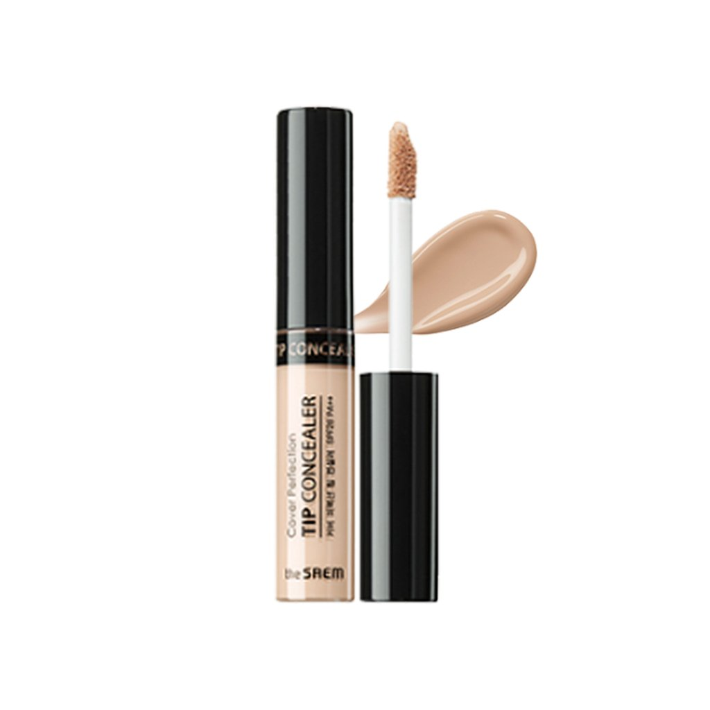 [the SAEM] Cover Perfection Tip Concealer SPF28 PA++ 6.5g (# Concealer Brightener)