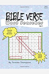 Bible Verse Word Searches: Volume 1 Paperback