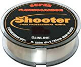Sunline Fluorocarbon New Shooter Fishing Line, 30-Pound Test/100m, Natural Clear