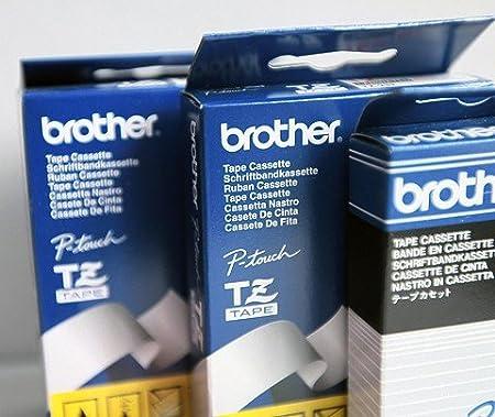 10x DRUCKER BESCHRIFTUNGSBAND 9mm für BROTHER P-Touch H100LB H100R