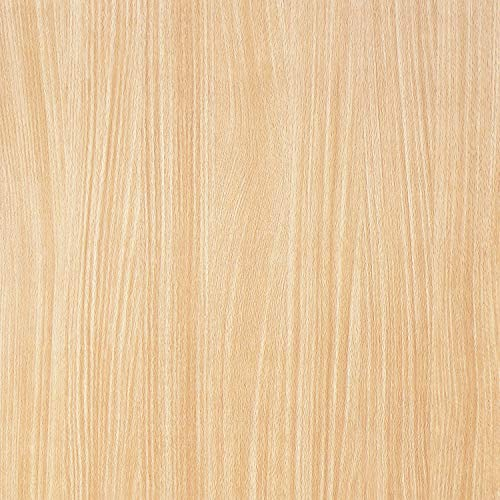 Wood Grain Peel and Stick Film for Cabinets Shelves Drawers Self-Adhesive Panel for Kitchen Removable Faux Mapel Wood Textured Decal Peel and Stick Wallpaper Vinyl Decorative Roll 17.8
