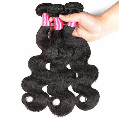 Bling-Hair-Brazilian-Virgin-Hair-Body-Wave-3-Bundles-8A-Unprocessed-100-Human-Hair-Weave-Natural-Color-100g