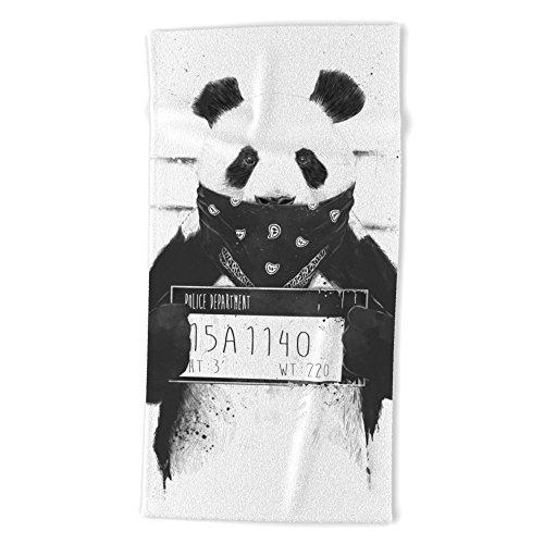 Society6 Bad Panda Beach Towel 74
