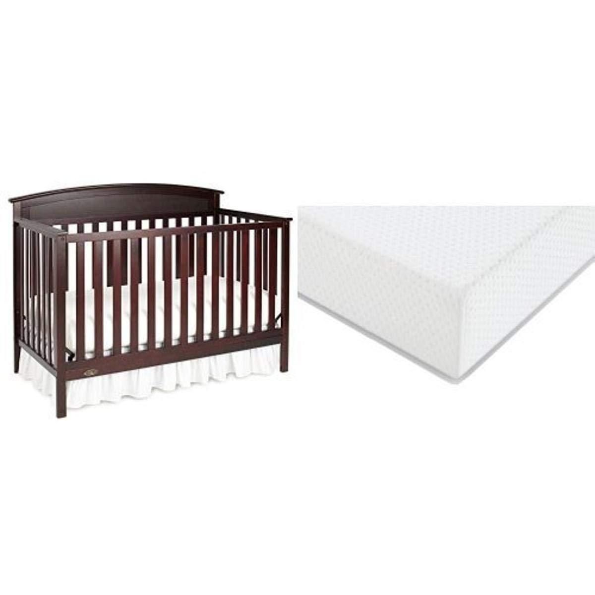 Graco Benton Convertible Crib Graco Premium Foam Crib and Toddler Bed Mattre