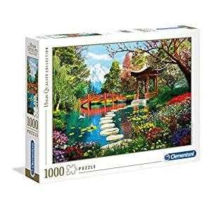 Clementoni 39513 High Quality Collection Puzzle Fuji Garden 1000 Pezzi Made In Italy Puzzle Adulto