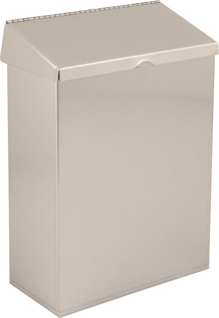 Delta Faucet 48100-SS Stainless Steel Sanitary Napkin Receptacle, Stainless