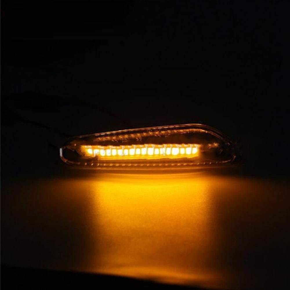 2 luces LED intermitentes laterales para E46 E60 E82 E92 E93 Dynamic