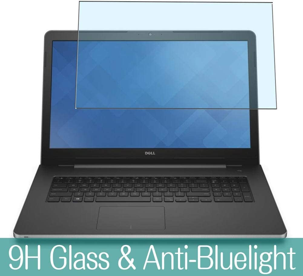 Synvy Anti Blue Light Tempered Glass Screen Protector Compatible with Dell Inspiron 17 5000 (5759) 17.3
