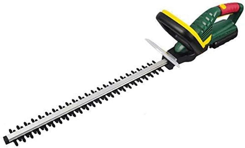 Recargable cortadora de césped, portátil Trimmer eléctrico, 2.0Ah de capacidad, 20V Flores Y Té Verde Hoja de recorte, de gran capacidad de la batería de litio poda Máquina cortasetos