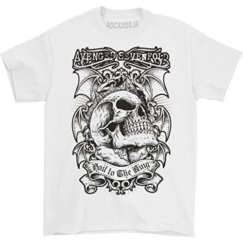 Avenged Sevenfold Men's Hail To The King T-shirt X-Large White