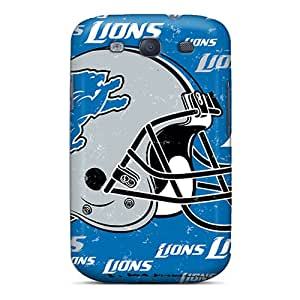 AaronBlanchette Samsung Galaxy S3 Best Hard Cell-phone Cases Allow Personal Design Stylish Detroit Lions Skin [gmq8585jCwv]