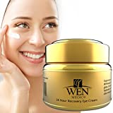Anti-Aging-Wrinkle-Eye-Cream-Treatment-for-Dark-Circles-Crows-Feet-Under-Eye-Bags-Puffiness-24-Hour-Recovery-Eye-Cream-By-WENmedics-15ml