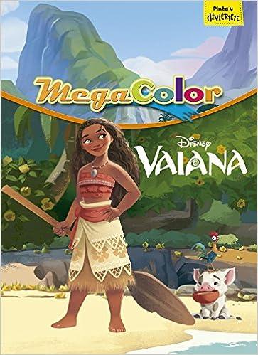 Vaiana. Megacolor (Disney. Vaiana): Amazon.es: Disney: Libros