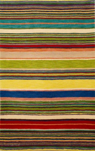 Inca 9441/24 Stripes Red/Multi (Inca Stripes Ocean Trans)