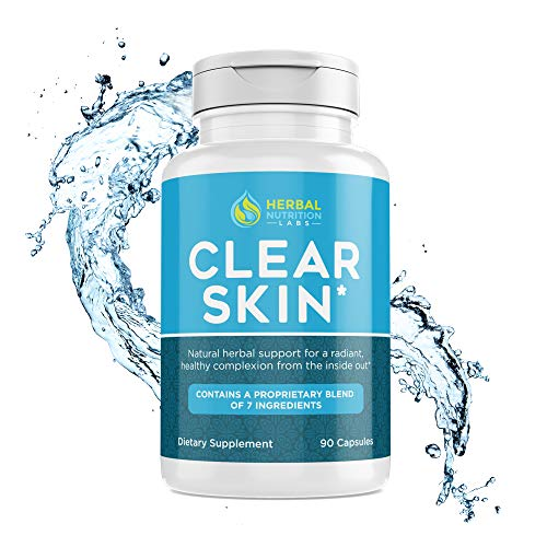 Cystic Acne Supplement for Women | Quickly Drys Up Painful Hormonal Acne On Your Face and Chin | All Natural | No Side Effects | Made USA
