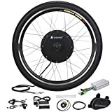 "Best Electric Bicycle Conversion Kits - Voilamart Electric Bicycle Wheel Kit 26"" Front Wheel Review"