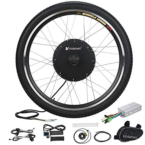 - Voilamart Electric Bicycle Wheel Kit 26