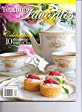 TEATIME FAVORITES Magazine - Celebrating 10 Wonderful Years Of Tea. Special Collector's Issue. 2013.