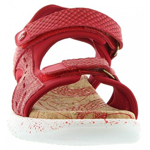 Panama Jack Sandali per Donna Nilo Snake B3 Napa Rojo