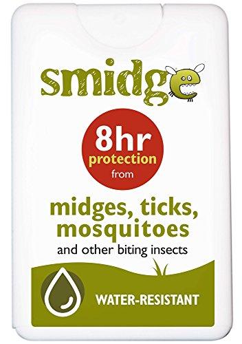 Smidge Unisex's Pocket Insect Repellent, White, 18 ml