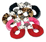 Fuzzy Metal Handcuffs W Keys - Assorted Color