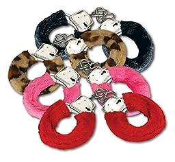 Fuzzy Metal Handcuffs W Keys - Assorted Color