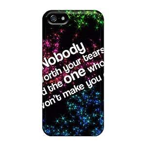 Hot Design Premium FBt5315aqrW Tpu Case Cover Iphone 5/5s Protection Case(nobody)