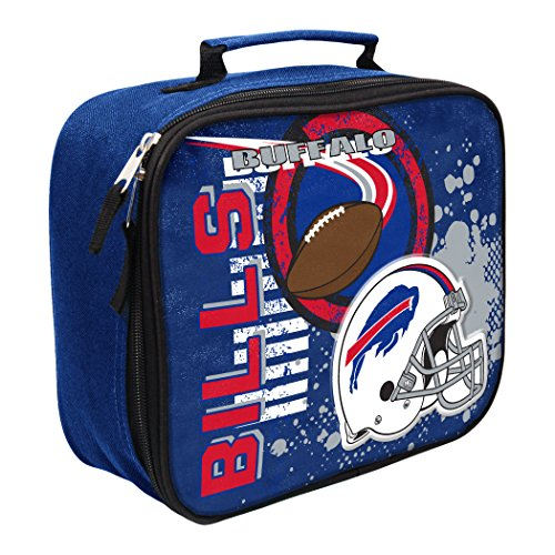 The Northwest Company Officially Licensed NFL Buffalo Bills Unisex Accelerator Lunch Kit, Red