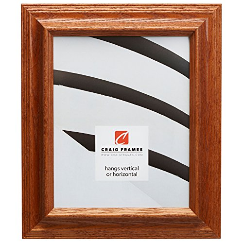 21x25 Poster Frame, Wood Grain Finish, 1.825'' Wide, Brown, .093'' Acrylic, Foamcore (262ASH138) by Craig Frames Inc.