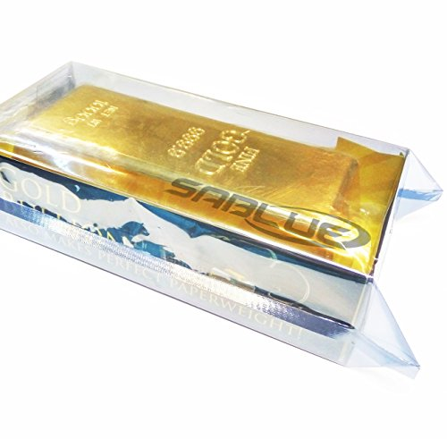 SABLUE 1kg 35oz Fake Gold Bar Bullion Door Stop/Paperweight